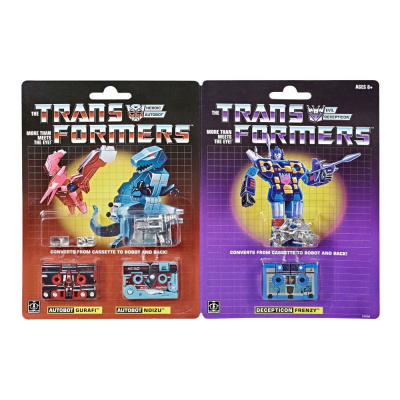 Transformers Generations pack 3 figurines Vintage G1 Mini-Cassettes HasCon 2019 Exclusive