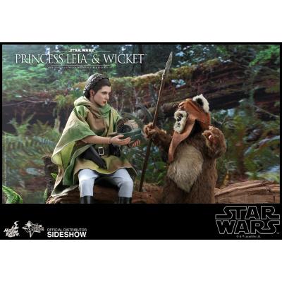 Star Wars: Return of the Jedi - Princess Leia and Wicket 1:6 Scale Set