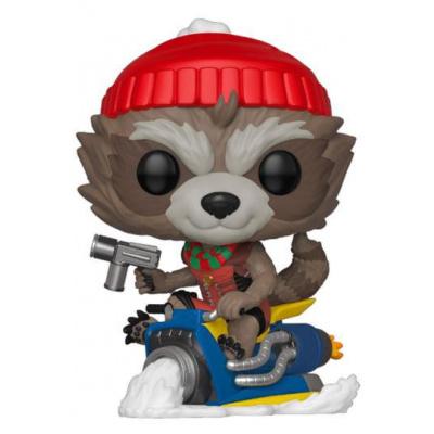 Marvel Holiday Figurine POP! Marvel Vinyl Rocket 9 cm