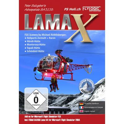 Lama X (FS X + FS 2004 Add-On) PC