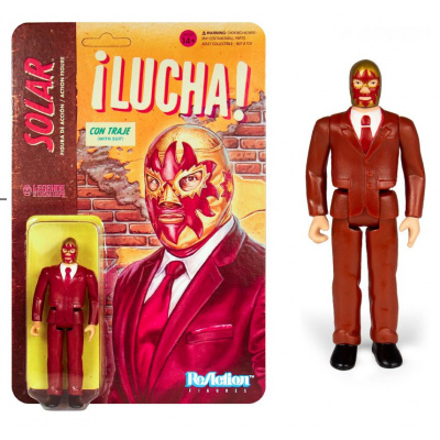 Legends of Lucha Libre: Solar in Suit ReAction Figure