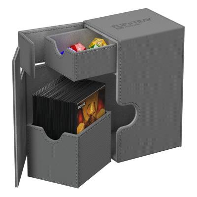 Ultimate Guard Flip´n´Tray Deck Case 80+ standard size XenoSkin Gray