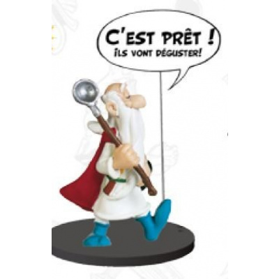 Asterix: Comics Speech Collection - Getafix Statue