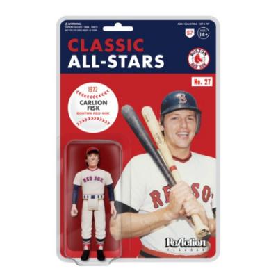 MLB: Boston Red Sox - Carlton Fisk - 3.75 inch ReAction Figure
