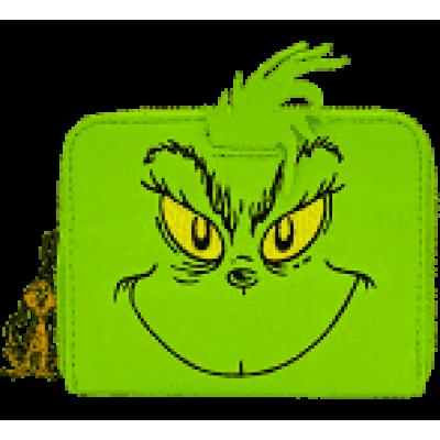 Dr Seuss Loungefly x Dr. Seuss de Grinch cosplay zip-Around portemonnee