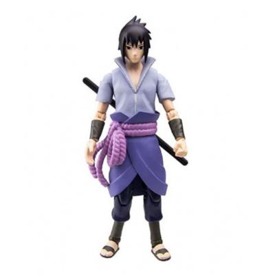 Naruto: 4 Inch Poseable Action Figure Series 2 - Sasuke