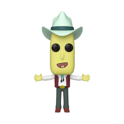 Pop! Cartoons: Rick and Morty - Mr. Poopy Butthole Auctioneer