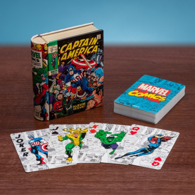 Marvel: Marvel Comic Book Playing Cards