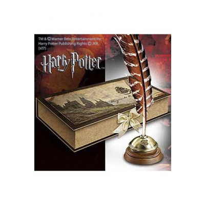 Harry Potter Hogwarts Writing Quill with Stand