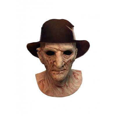 A Nightmare on Elm Street 2: Deluxe Freddy Krueger Mask with Hat