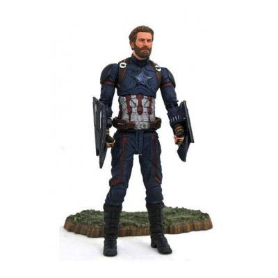 Avengers Infinity War Marvel Select figurine Captain America 18 cm