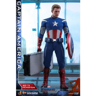 Marvel: Avengers Endgame - Captain America 2012 1:6 Scale Figure