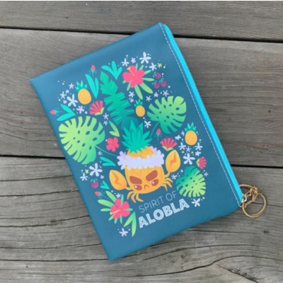 Inki-Drop: Alobla Pineapple Crab Pouch