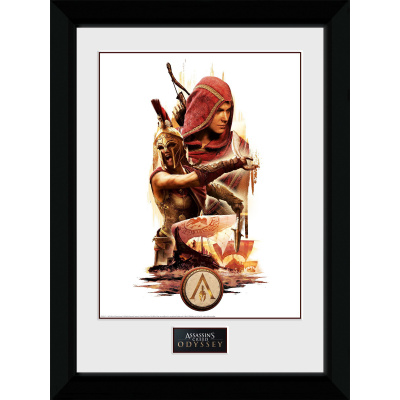 Assassin's Creed Odyssey: Collage Collector Print