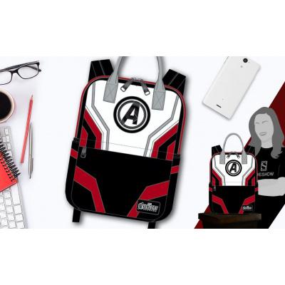 Marvel: Avengers Endgame - Quantum Suit Square Nylon Backpack