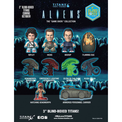 Alien TITANS: The Game Over Collection - Blind Box 18 pcs CDU