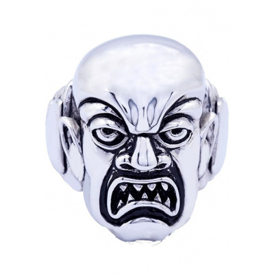 Rob Zombie: Phantom Creep - Silver Plated Ring Size 9