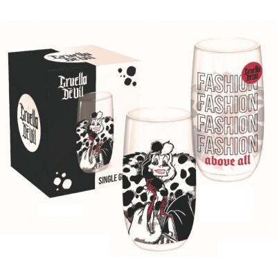 Disney: 101 Dalmatians - Cruella de Vil 450 ml Glass