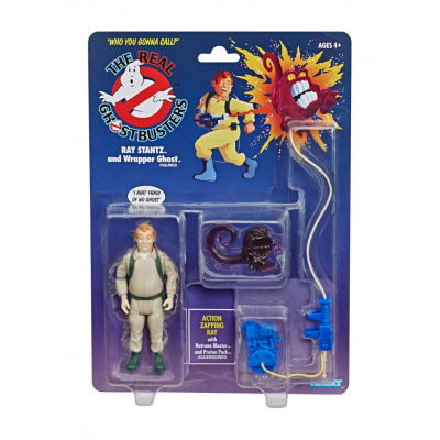 Ghostbusters Kenner Classics : Ray Stantz and Wrapper Ghost