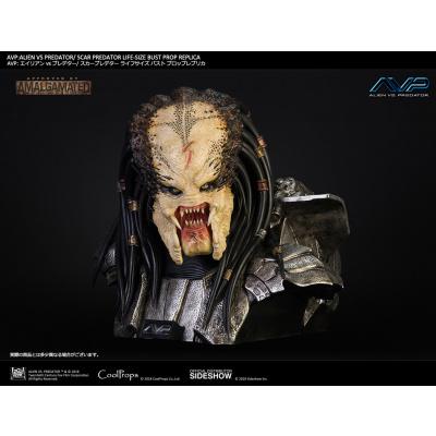 Alien vs Predator: Scar Predator Life Sized Bust