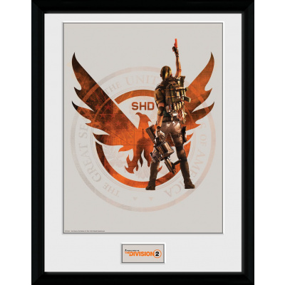 The Division 2: SHD Collector Print