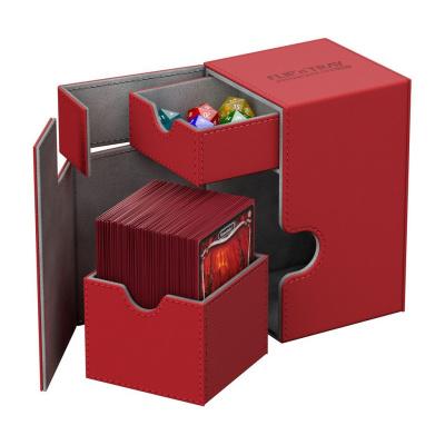 Ultimate Guard Flip´n´Tray Deck Case 100+ standard size XenoSkin Red