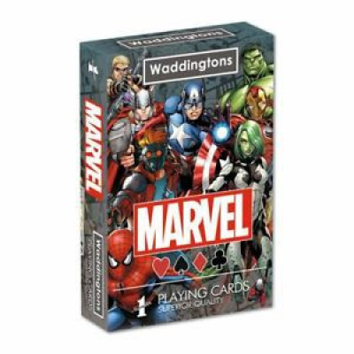 Marvel Universe Waddingtons No. 1 Playing Cards
