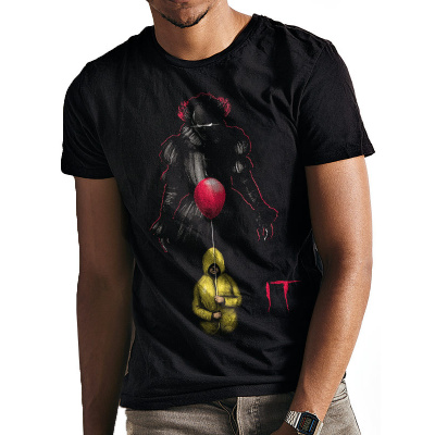 IT - LURKING CLOWN T-Shirt BLACK