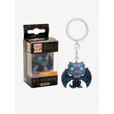 Game Of Thrones S8: Icy Viserion POP Keychain
