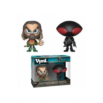 Aquaman VYNL Vinyl Figures 2-Pack Aquaman & Black Manta 10 cm