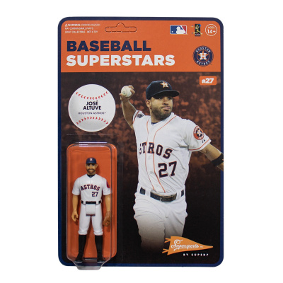 MLB Modern Wave 1: Houston Astros - Jose Altuve 3.75 inch ReAction Figure