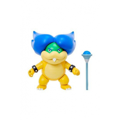World of Nintendo Action Figure Ludwig with Magic Wand 8 cm