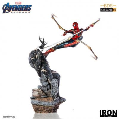 Marvel: Avengers Endgame - Iron Spider vs Outrider 1:10 Scale Statue