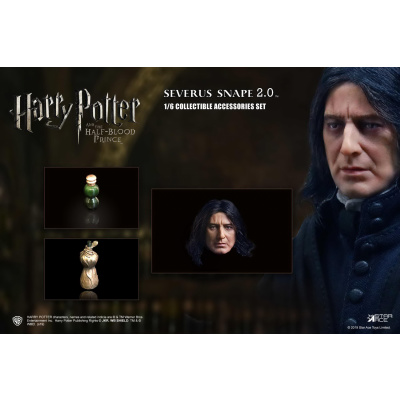 Harry Potter: Severus Snape 2.0 - Head and Bottle Pack