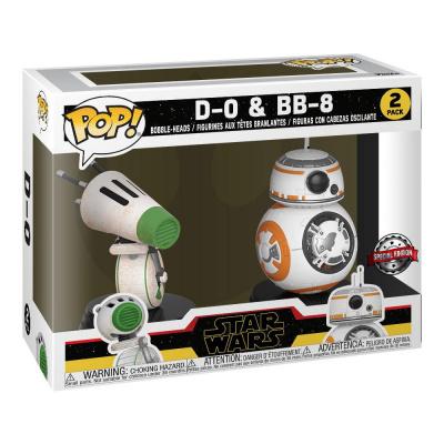 Funko POP! Star Wars: Rise of Skywalker - 2 Pack D-O & BB-8 Vinyl Figures