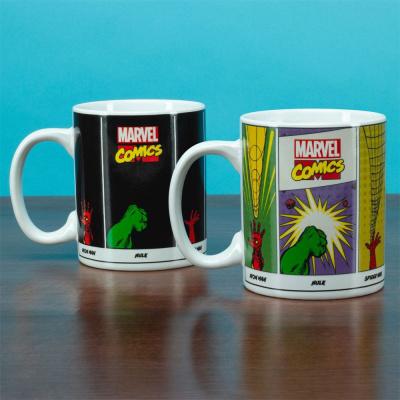Marvel Comics Heat Change Mug Super Powers