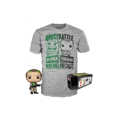 GHOSTBUSTERS POP! & TEE BOX DR. PETER VENKMAN EXCLUSIVE SIZE S