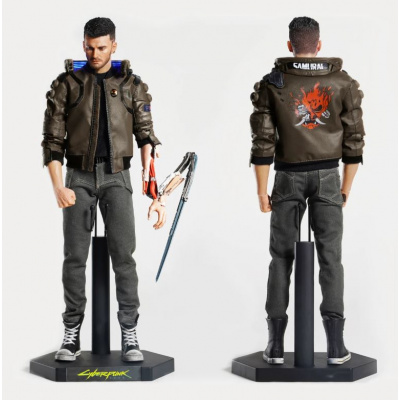 Cyberpunk 2077: Male V and Motorcycle 1:6 Scale Figure Set