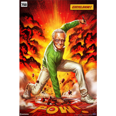 Marvel: Stan Lee Excelsior Unframed Art Print