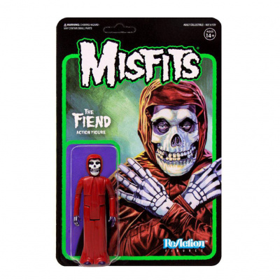Misfits figurine ReAction The Fiend Crimson Red 10 cm