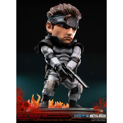 Metal Gear Solid: Solid Snake SD 8 inch PVC Statue