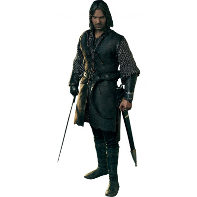 Lord of the Rings: Aragorn at Helm's Deep 1:6 Scale Figure