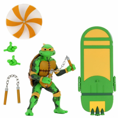 TMNT: Turtles in Time Series 2 MICHELANGELO - 7 inch Action Figure