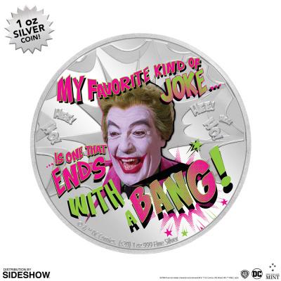 DC Comics: 2020 The Joker 1 oz Silver Coin