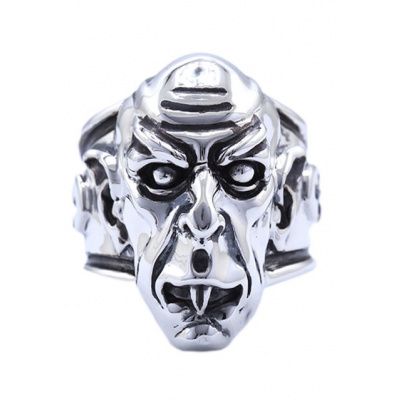 Nosferatu: Vampire - Sterling Silver Ring Size 9