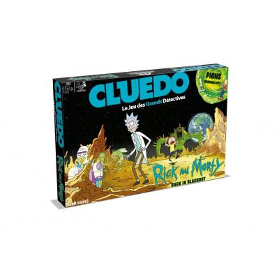 Rick & Morty jeu de plateau Cluedo *FRANCAIS*