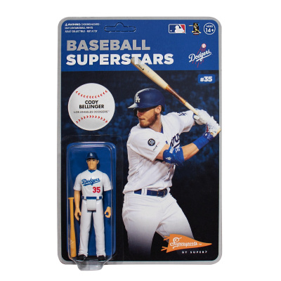 MLB Modern Wave 1: Los Angeles Dodgers - Cody Bellinger 3.75 inch ReAction Figure