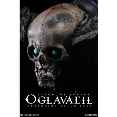 Court of the Dead: Executus Reaper Oglavaeil Legendary Scale Bust