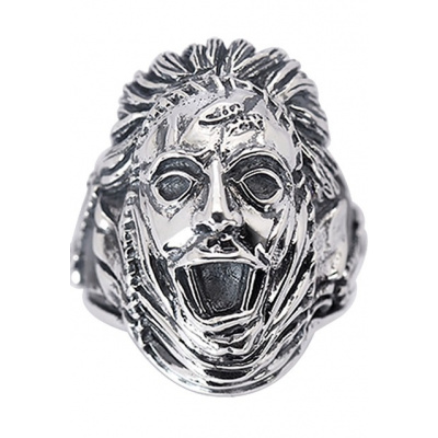 The Texas Chainsaw Massacre: Leatherface - Sterling Silver Ring Size 9