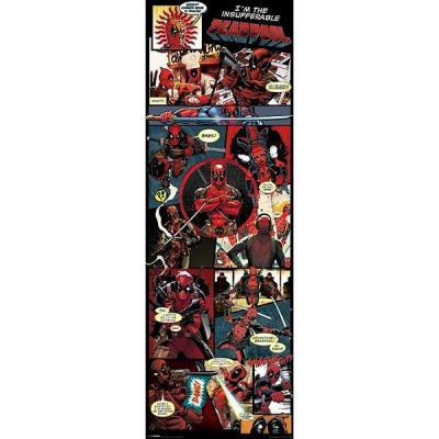 Marvel: Deadpool - Panels 158 x 53 Door Poster